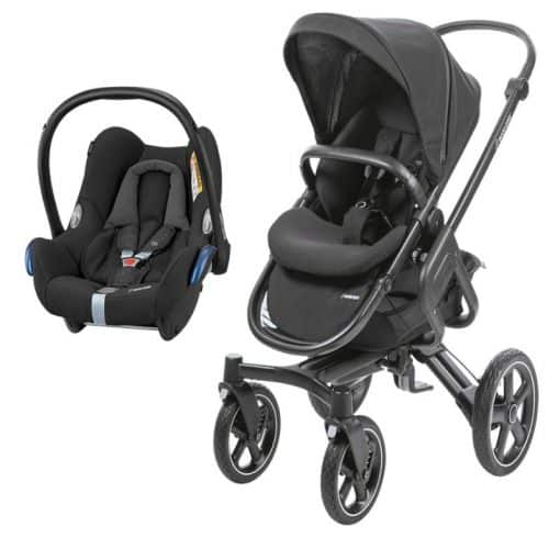 Maxi Cosi Nova 2in1 Cabriofix Travel System-Nomad Black (NEW 2019)