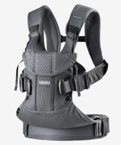 Baby Carrier One Air in 3D Mesh by BABYBJORN black medium solid