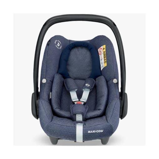 Maxi Cosi Rock I-SIZE Group 0+ Car Seat-Sparkling Blue