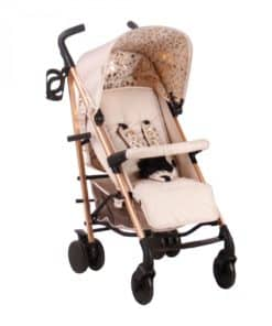 My Babiie Believe MB51 Stroller-Blush Leopard (NEW)