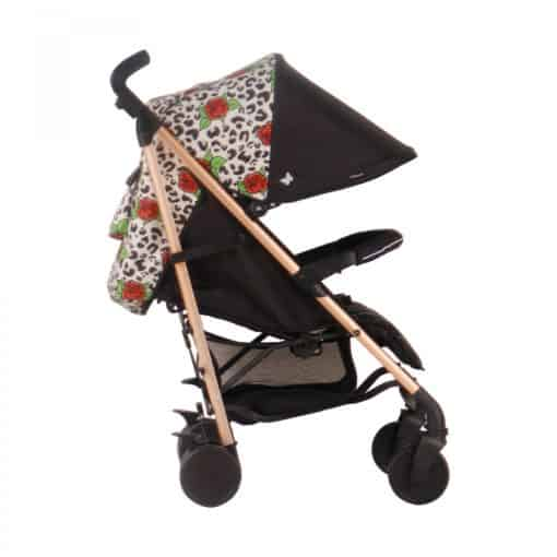 My Babiie Believe MB51 Stroller-Rose Gold Leopard (NEW)