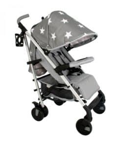 My Babiie Billie Faiers MB51 Stroller-Grey Stars (NEW)