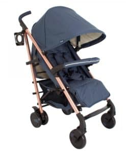 My Babiie Billie Faiers MB51 Stroller-Rose Gold Navy (NEW)