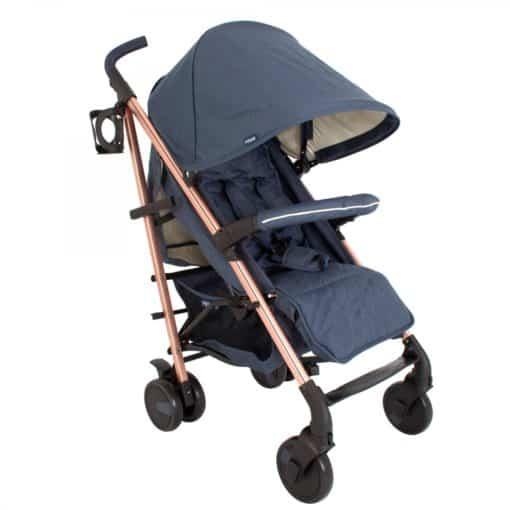 My Babiie Billie Faiers MB51 Stroller-Rose Gold Navy (NEW)