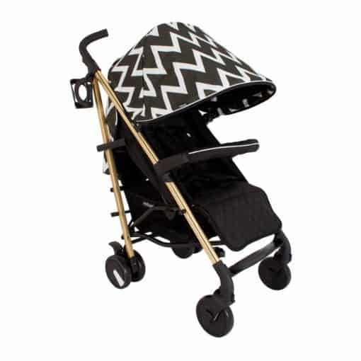 My Babiie MB51 Stroller-Gold Edition Chevron (NEW)