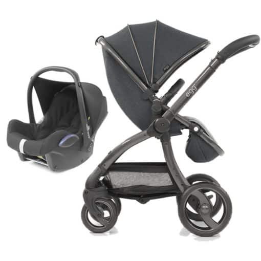 egg® 2in1 Cabriofix Travel System-Carbon Grey (New 2019)