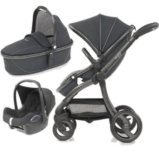 egg® 3in1 Cabriofix Travel System-Carbon Grey (New 2019)