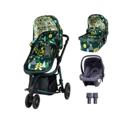 Cosatto Giggle 3 Travel System Bundle-Into The Wild