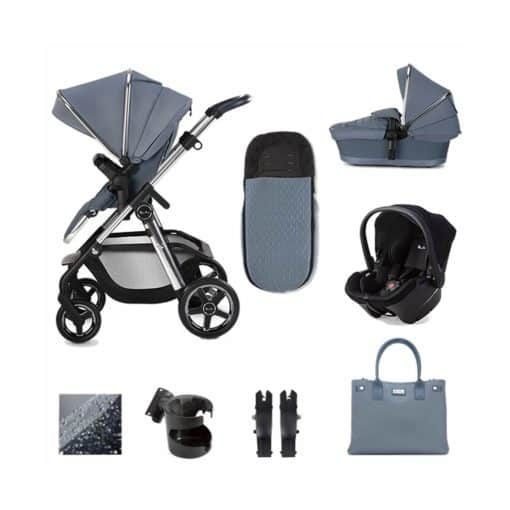 Silver Cross Pioneer Simplicity Plus Bundle-Sky (2020)