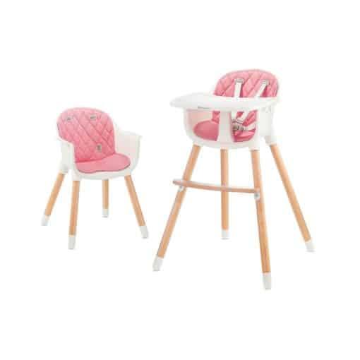 kinderkraft Sienna Highchair-Pink