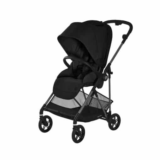 Cybex Melio Stroller-Carbon/Deep Black (2021)