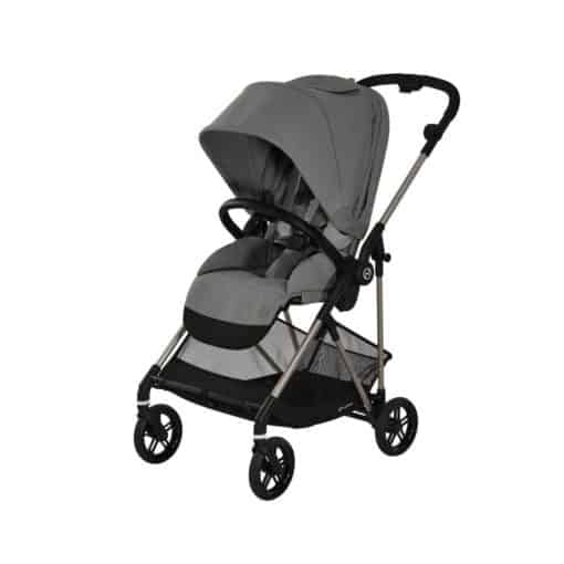 Cybex Melio Stroller-Taupe/Soho Grey (2021)