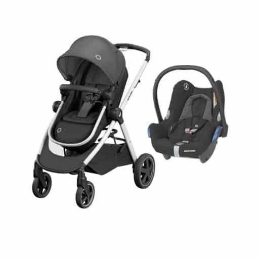 Maxi Cosi Zelia2 2in1 Travel System-Essential Black