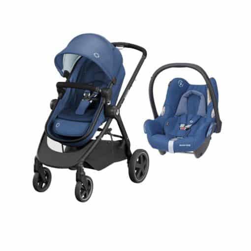 Maxi Cosi Zelia2 2in1 Travel System-Essential Blue