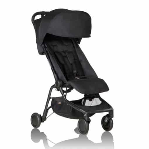 Mountain Buggy Nano Stroller-Black 2020