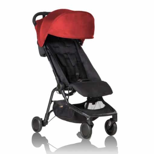 Mountain Buggy Nano Stroller-Ruby 2020
