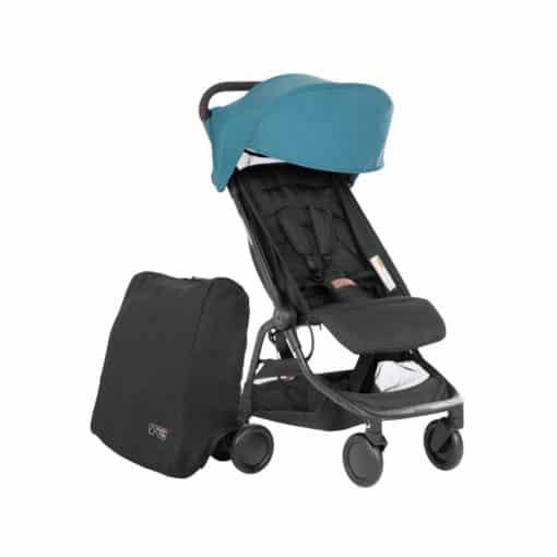 Mountain Buggy Nano Stroller-Teal 2021