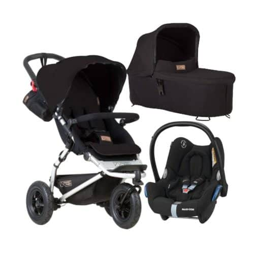 Mountain Buggy Swift V3.2 3in1 Travel System-Black