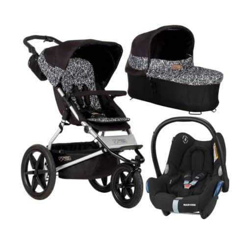 Mountain Buggy Terrain 3in1 Travel System-Graphite
