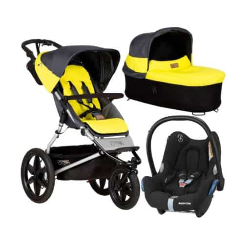 Mountain Buggy Terrain 3in1 Travel System-Solus