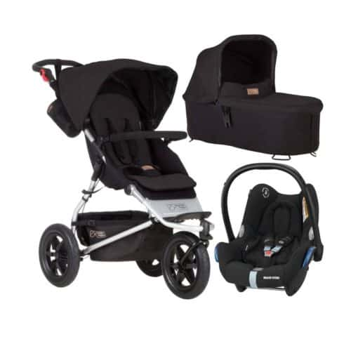 Mountain Buggy Urban Jungle 3in1 Travel System-Black