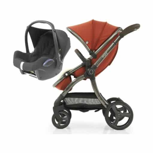egg® 2 2in1 Cabriofix Travel System-Paprika (NEW)