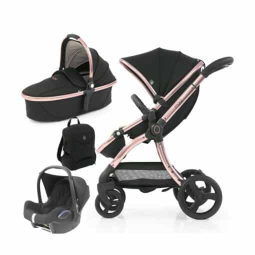egg® 2 Special Edition 3in1 Cabriofix Travel System-Diamond Black (NEW)