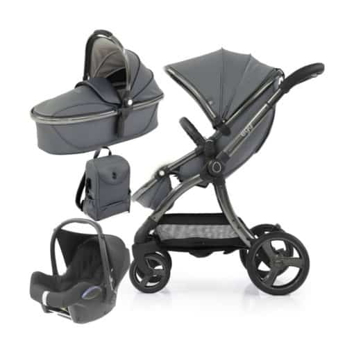 egg® 2 Special Edition 3in1 Cabriofix Travel System-Jurassic Grey (NEW)