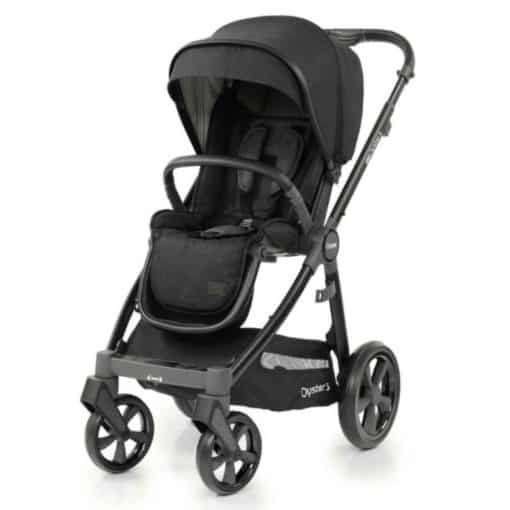 BabyStyle Oyster 3 Black Chassis Stroller-Noir