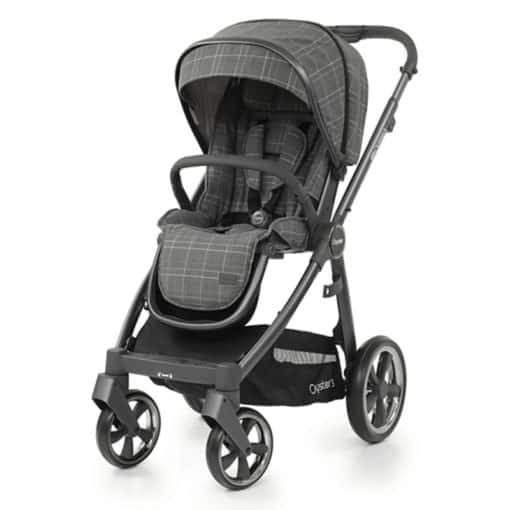 BabyStyle Oyster 3 City Grey Stroller-Manhattan