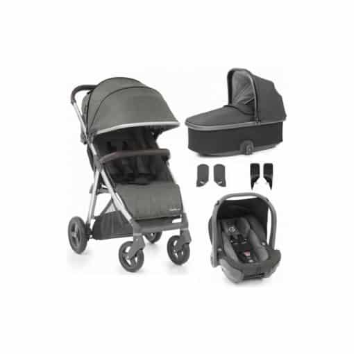 BabyStyle Oyster Zero Capsule 5 Piece Travel System-Pepper