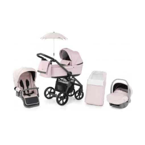 BabyStyle Prestige 3 3in1 Travel System Grey Frame/Black-Ballerina