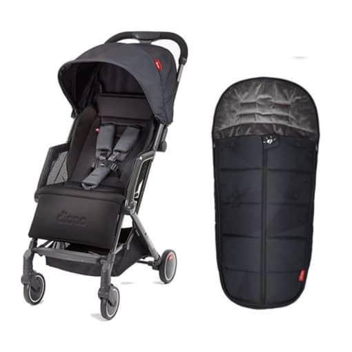 Diono Traverze Super Compact Stroller - FREE Footmuff!
