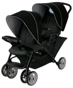 Graco Stadium Duo Tandem Stroller-Black/Grey