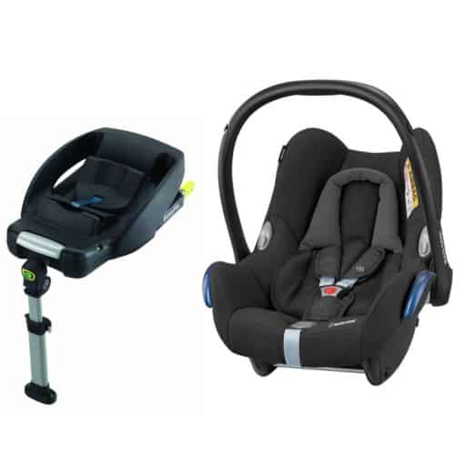Maxi Cosi Cabriofix Group 0+ Car Seat With Easyfix Base-Nomad Black (NEW 2019)