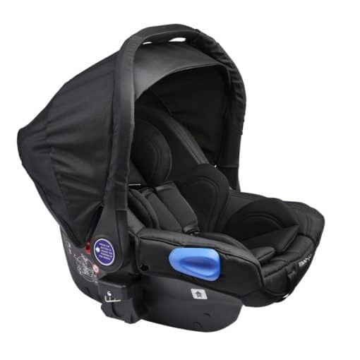 Mee-Go Otto Group 0+ Car Seat-Black (2021)