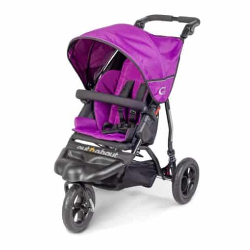 Out n About GT Stroller-Purple Punch