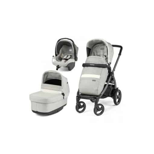 Peg Perego Book Modular 51S Culla Pop Up Bundle-Luxe Pure (NEW)