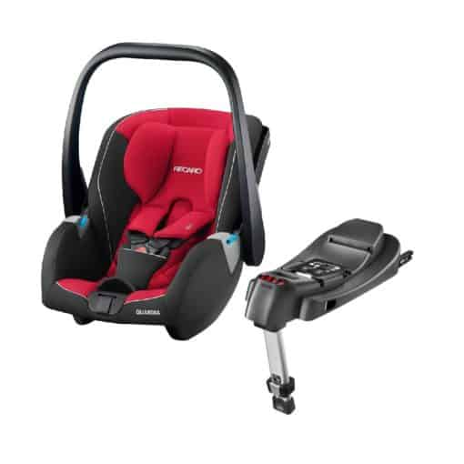 Recaro Guardia Group 0+ Infant Car Seat With Isofix Base-Racing Red (New 2020)