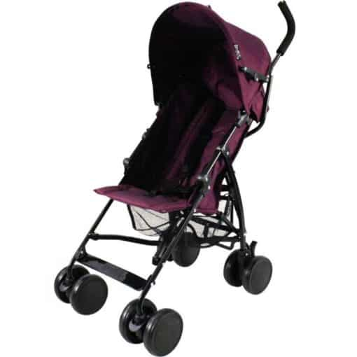 Red Kite Push Me 2U Stroller-Plum (New)
