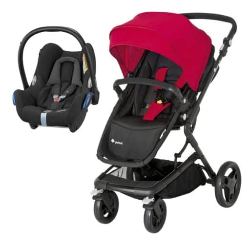 Safety 1st Kokoon 2in1 Travel System-Black & Red Clearance (NEW)
