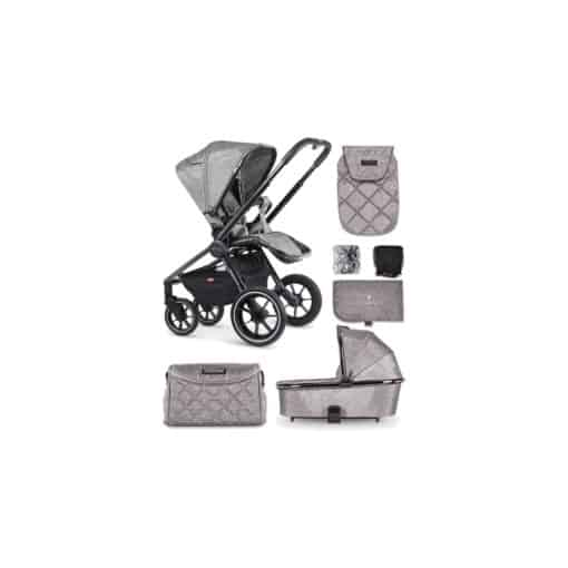Venicci Tinum 2in1 Travel System-Light Grey (NEW 2020)