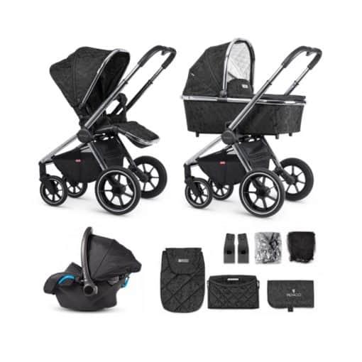Venicci Tinum 3in1 Travel System- Camo Black (NEW 2020)