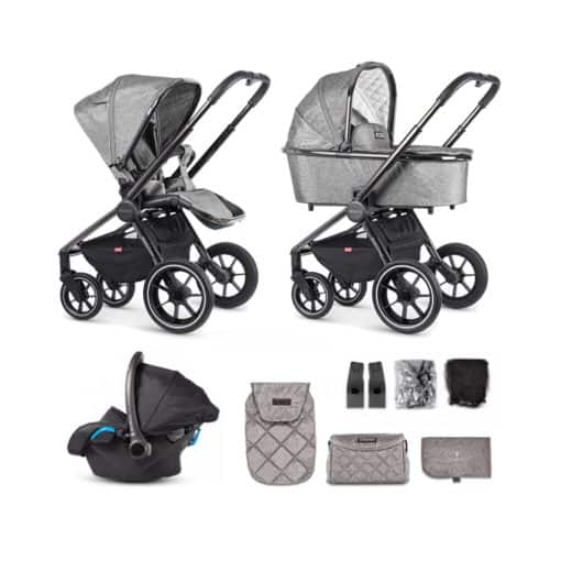 Venicci Tinum 3in1 Travel System- Grey (NEW 2020)