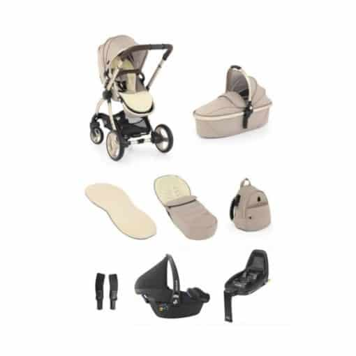 egg® 2 Luxury 3in1 Pebble Pro Travel System with Familyfix2 Base-Feather (NEW)