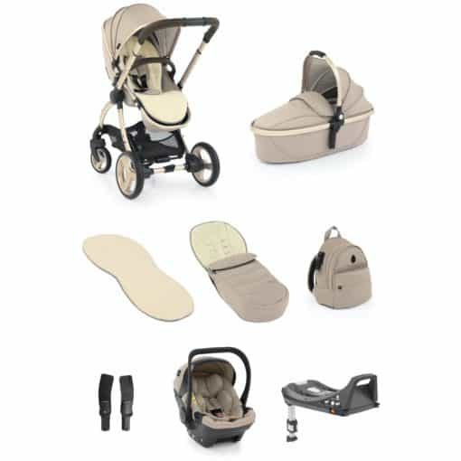 egg® 2 Luxury 3in1 Shell Travel System with ISOFIX Base-Feather (NEW)