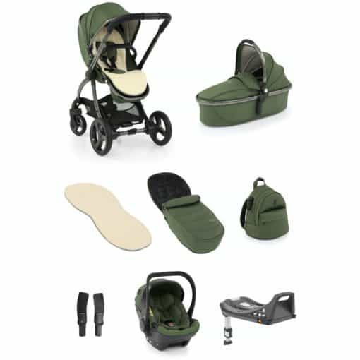 egg® 2 Luxury 3in1 Shell Travel System with ISOFIX Base-Olive (NEW)