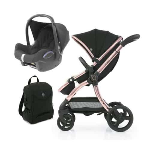 egg® 2 Special Edition 2in1 Cabriofix Travel System With Changing Bag-Diamond Black (NEW)