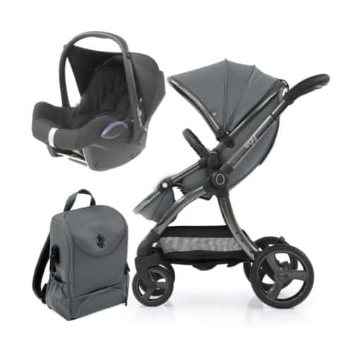 egg® 2 Special Edition 2in1 Cabriofix Travel System With Changing Bag-Jurassic Grey (NEW)