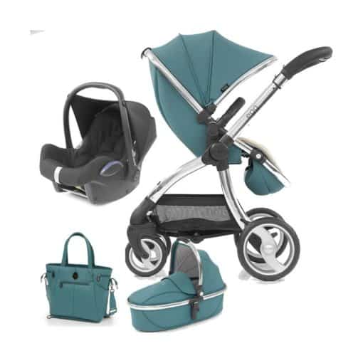 egg® Special Edition 2in1 Cabriofix Travel System With FREE Carrycot & Changing Bag-Cool Mist (New 2019)